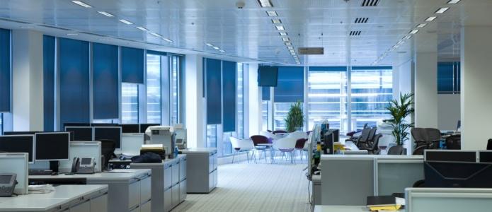 zadbane i czyste biuro firmy